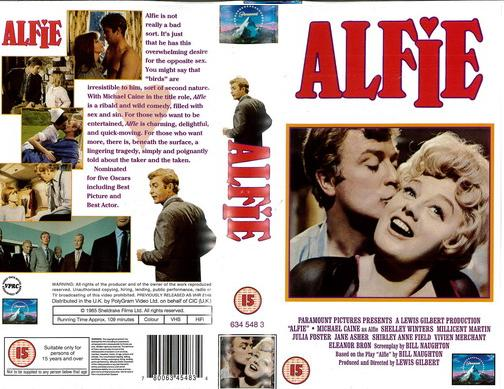 ALFIE (VHS) UK