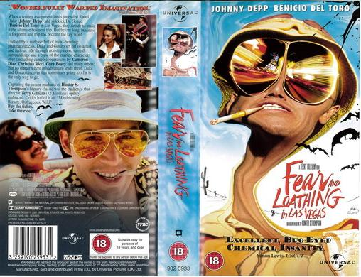 FEAR AND LOATHING IN LAS VEGAS (VHS) UK
