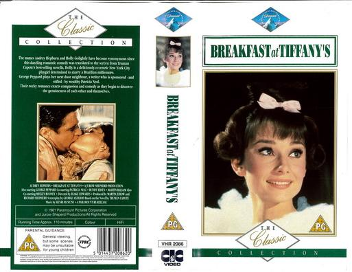 BREAKFAST AT TIFFANY'S (VHS) UK