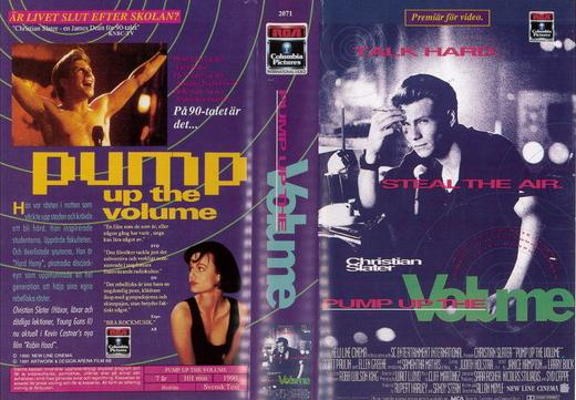 PUMP UP THE VOLUME (VHS)