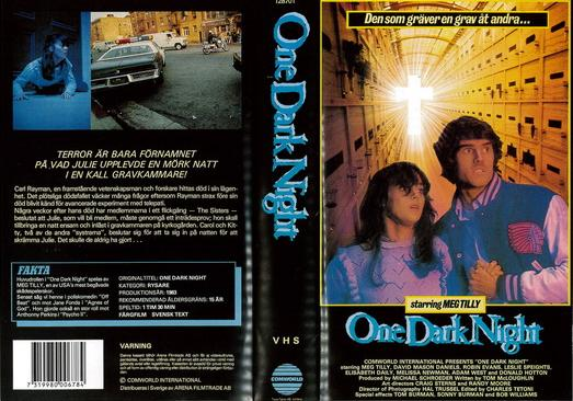 ONE DARK NIGHT (VHS)