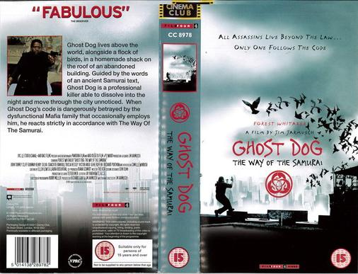 GHOST DOG (VHS) UK