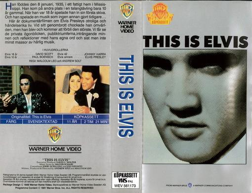 THIS IS ELVIS (VHS)