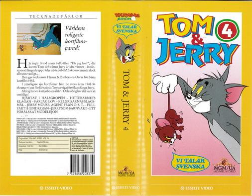 TOM & JERRY 4 (VHS)