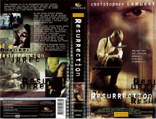 RESURRECTION (VHS)