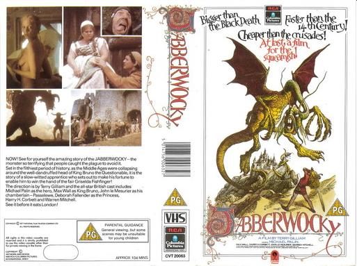 JABBERWOCKY (VHS) UK