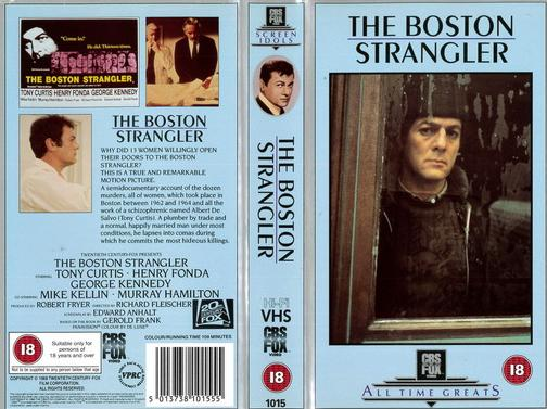 BOSTON STRANGER (VHS) UK