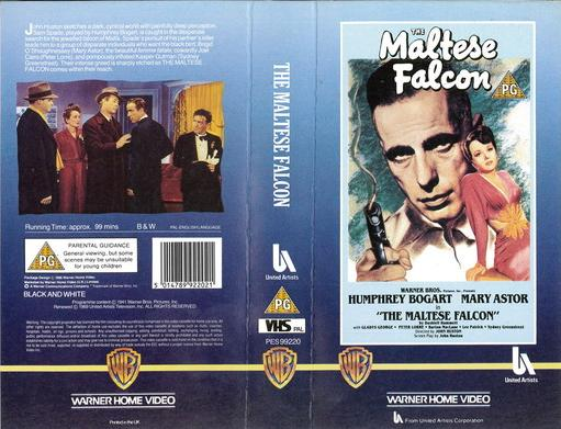 MALTESE FALCON (VHS) UK