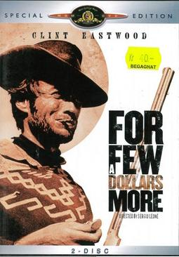 FOR A FEW DOLLARS MORE (BEG DVD)