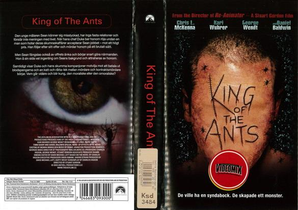 KING OF THE ANTS (VHS)