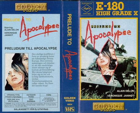 PRELUDE TO APOCALYPSE 8147 GREATEST ATTACK (VHS)