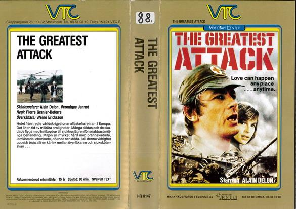 8147 GREATEST ATTACK (VHS)