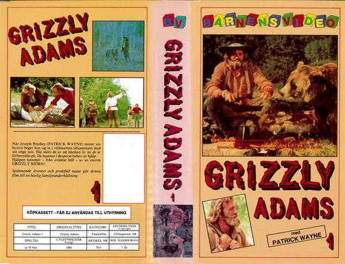 GRIZZLY ADAMS 1 (VHS)