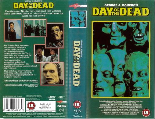DAY OF THE DEAD - UK (VHS)