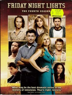 FRIDAG NIGHT LIGHTS - SEASON 4 (BEG DVD) USA