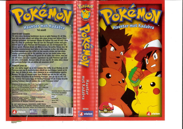 POKEMON: HAUNTER MOT KADABRA (VHS)