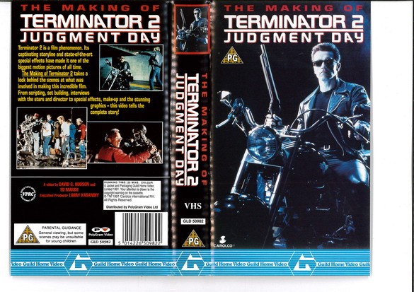 MAKING OF TERMINATOR 2 (VHS) UK