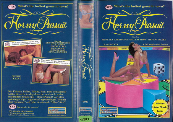HORNEY PURSUIT  (VHS)