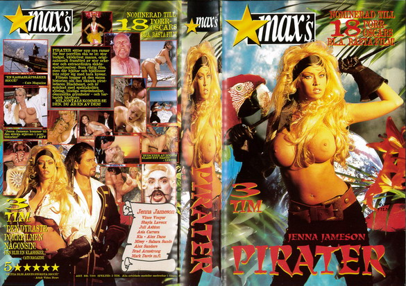 7200 PIRATER  (VHS)