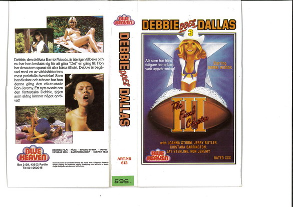 DEBBIE DOES DALLAS (VHS)