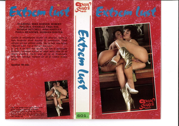 EXTREME LUST (VHS)