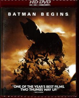 BATMAN BEGINS (HDDVD)