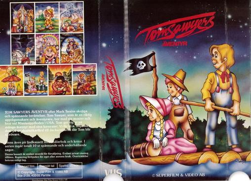 TOM SAWYERS ÄVENTYR (VHS)