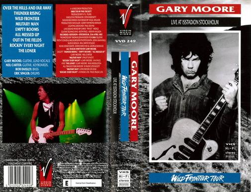 GARY MOORE_ LIVE AT ISSTADION STOCKHOLM (VHS)
