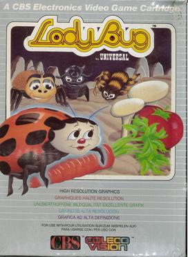 LADY BUG (COLECO VISION)
