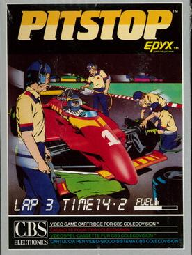 PITSTOP (COLECO VISION)