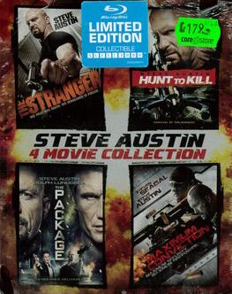 STEVE AUSTIN 4 MOVIE COLL (BLU-RAY) IMPORT