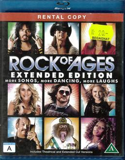 ROCK OF AGES (BLU-RAY) BEG HYR