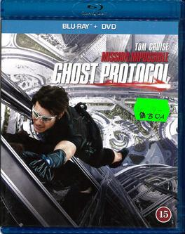 MISSION IMPOSSIBE 4-GHOST PROTOCOL (BLU-RAY)