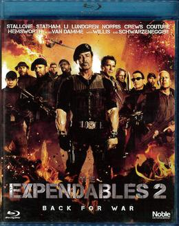 EXPENDABLES 2 (BLU-RAY)