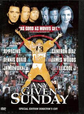 ANY GIVEN SUNDAY (DVD) BEG IMPORT