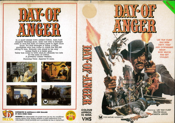 DAY OF ANGER  (VHS) AUS