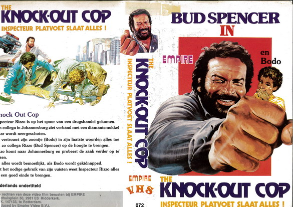 KNOCK-OUT COP  (VHS) HOL