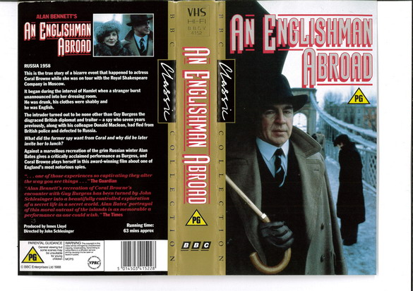 AN ENGLISHMAN ABROAD (VHS) UK