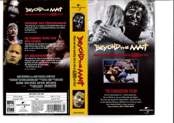 BEYOND THE MAT (VHS)