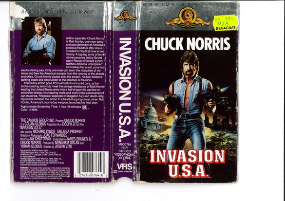 INVASION USA (VHS) USA