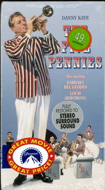FIVE PENNIES (VHS) USA