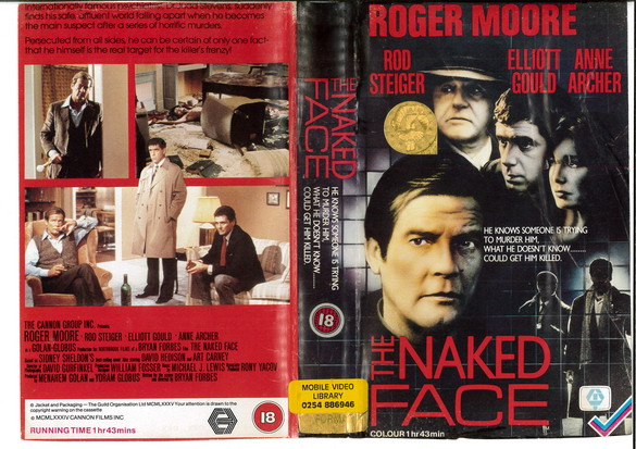 NAKED FACE  (VHS) UK