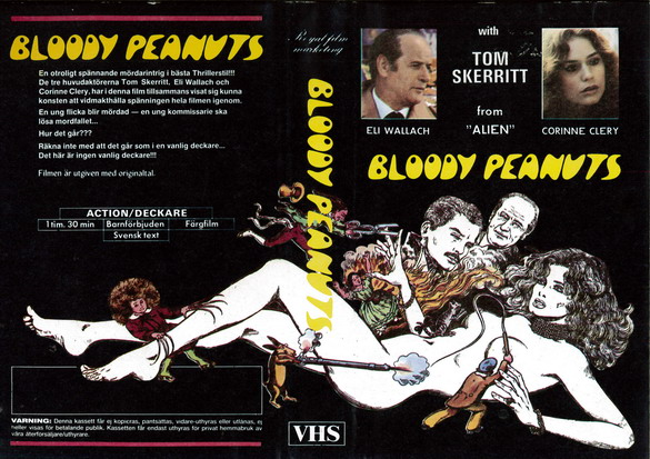 Bloody Peanuts (VHS)