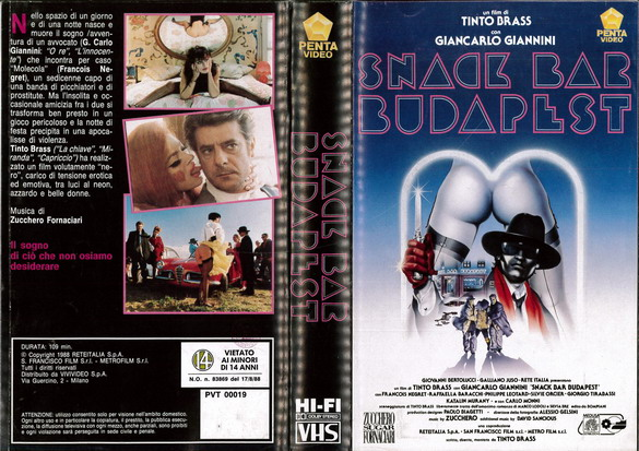 SNACK BAR BUDAPEST  (VHS) IT