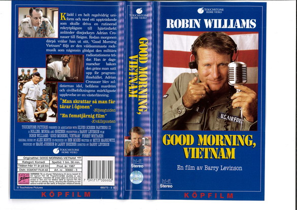 GOOD MORNING, VIETNAM (VHS)