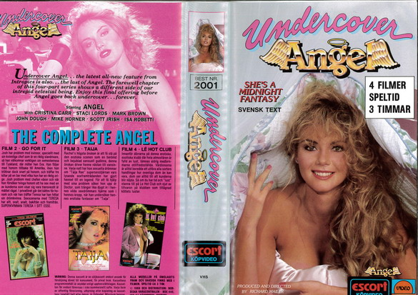2001 UNDERCOVER ANGEL (VHS)