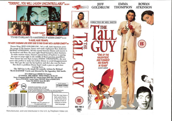 TALL GUY (VHS)  UK