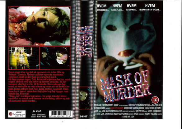 MASK OF MURDER (VHS) IMPORT