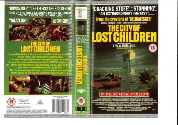 CITY OF LOST CHILDREN (VHS) UK