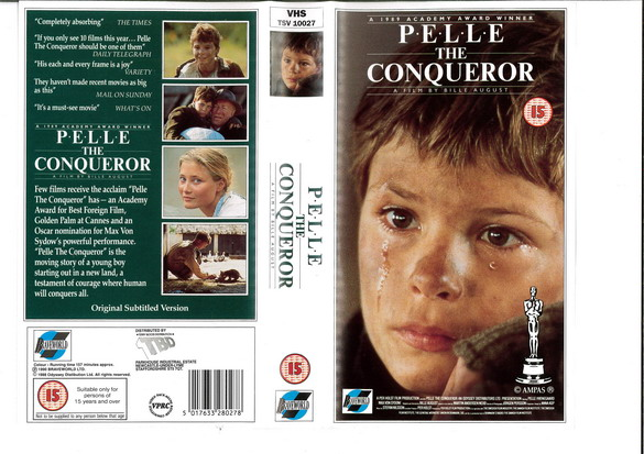 PELLE THE CONQUEROR (VHS) UK